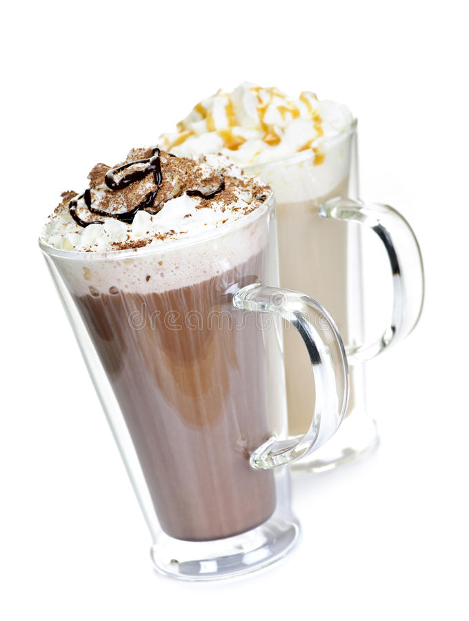 Download Hot Chocolate And Coffee Beverages Stock Image - Image: 16522389