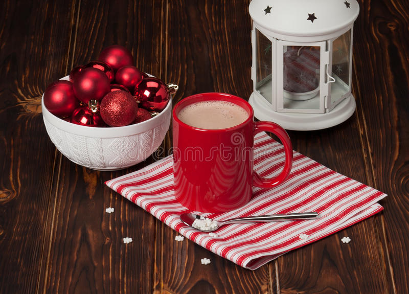 Hot Chocolate Drink. Christmas Sweets And stock photos