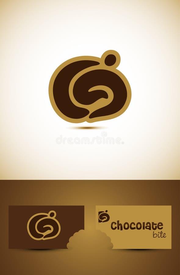 Hot chocolate icon design stock photography