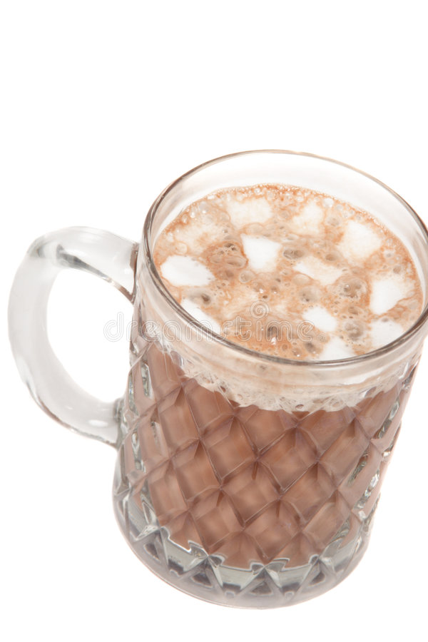 Hot Chocolate With Marshmellows Royalty Free Stock Image