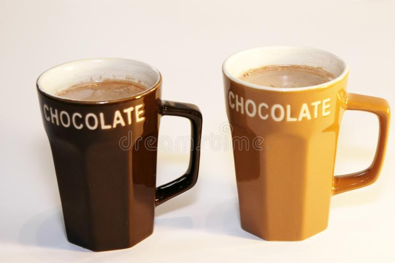Hot chocolate milk royalty free stock image