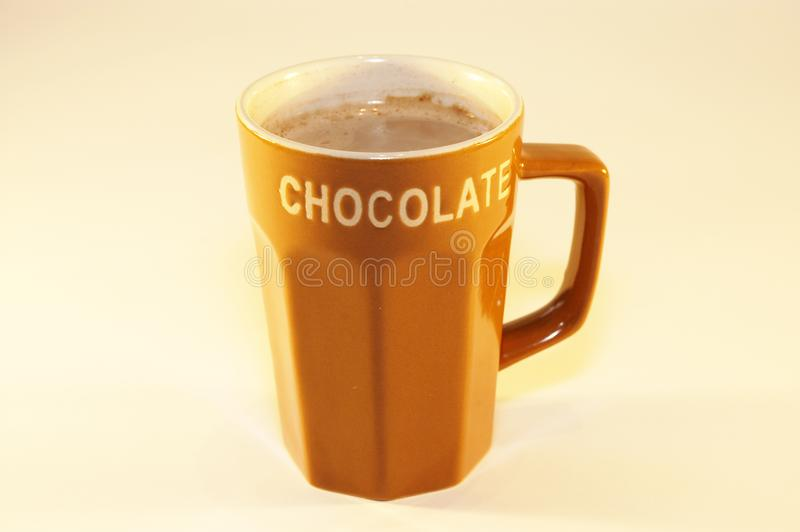 Hot chocolate milk royalty free stock images