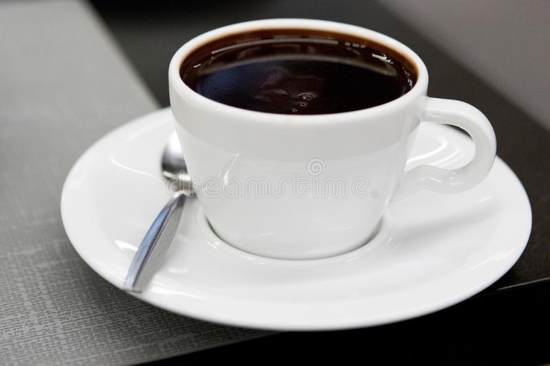 Hot Chocolate. Relaxing cup of hot chocolate royalty free stock photo