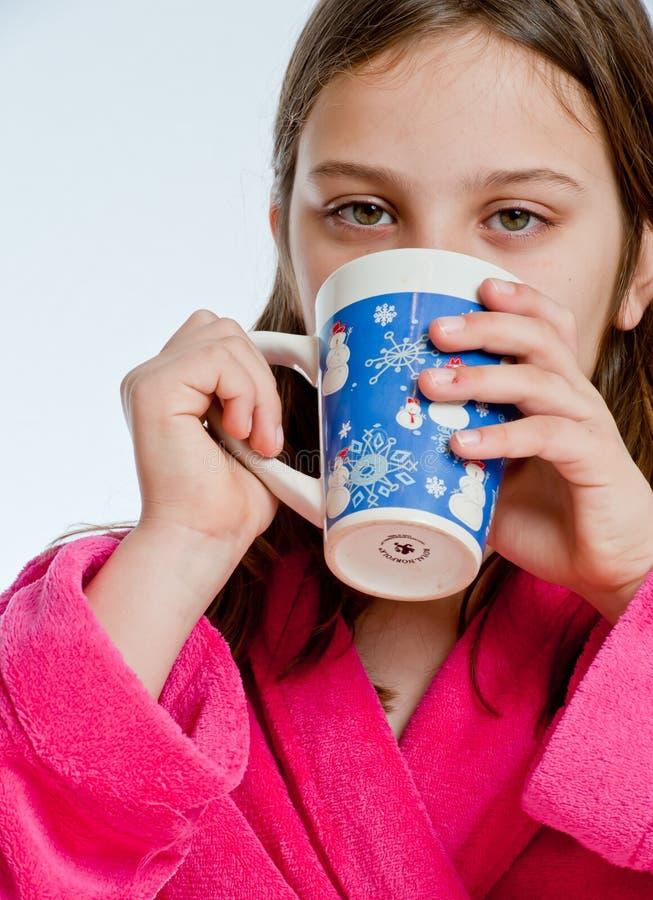 Hot Chocolate Sip Stock Image