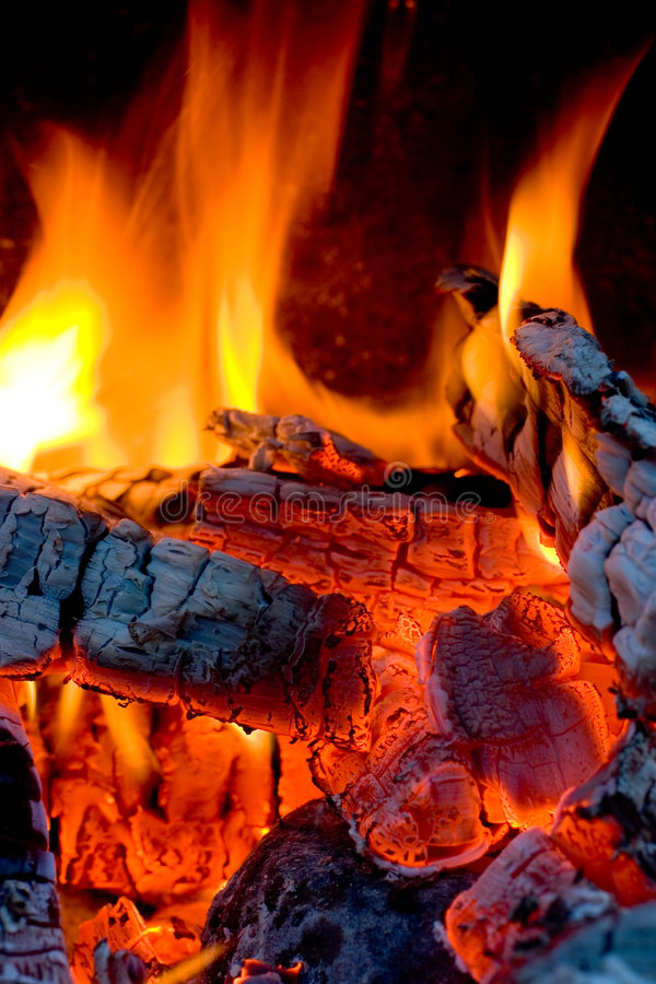 Free Hot Coals Stock Image - 1011771
