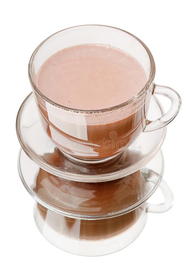 Download Hot cocoa stock image. Image of transparent, reflection - 23642811