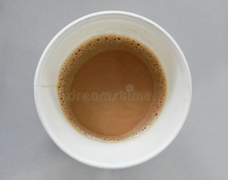 Hot coffe in the morning royalty free stock photo