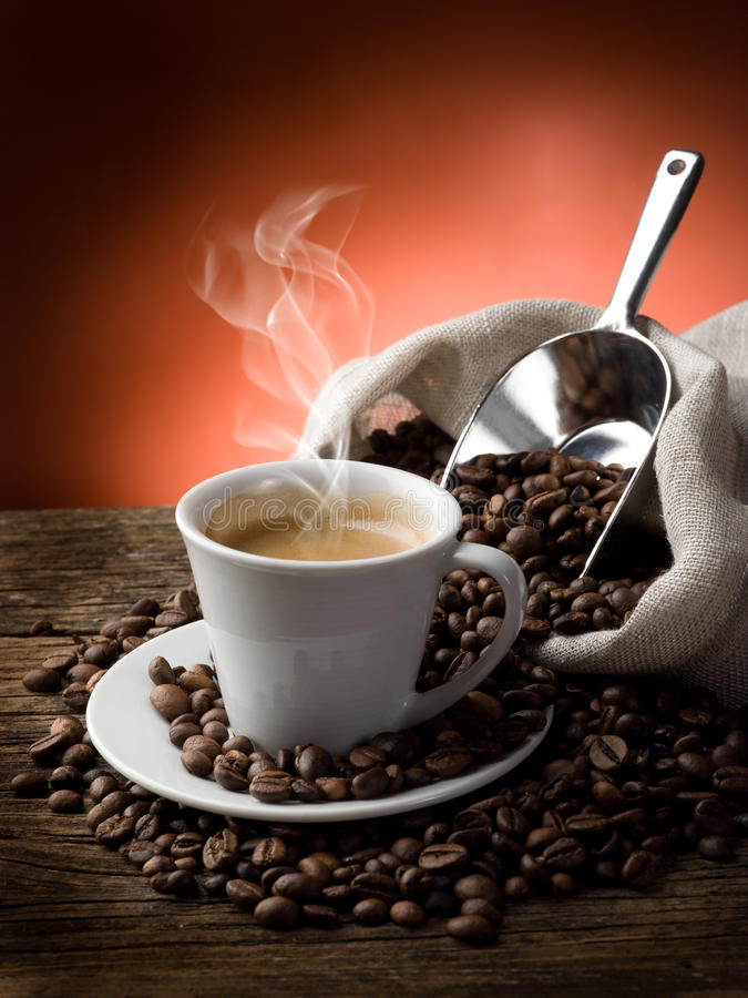 Free Hot Coffee Stock Images - 19499354