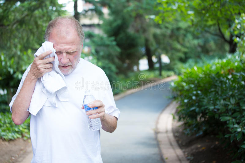 Hot day, dehydration royalty free stock photos