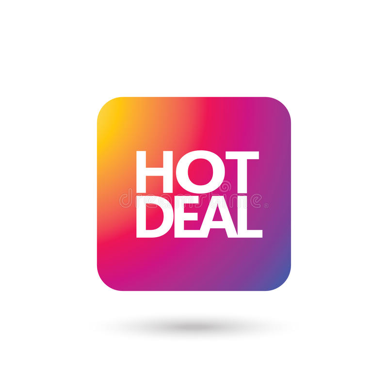 Sales Deal: Hot Deal Sale Wallpaper Stock Vector. Illustration Of
