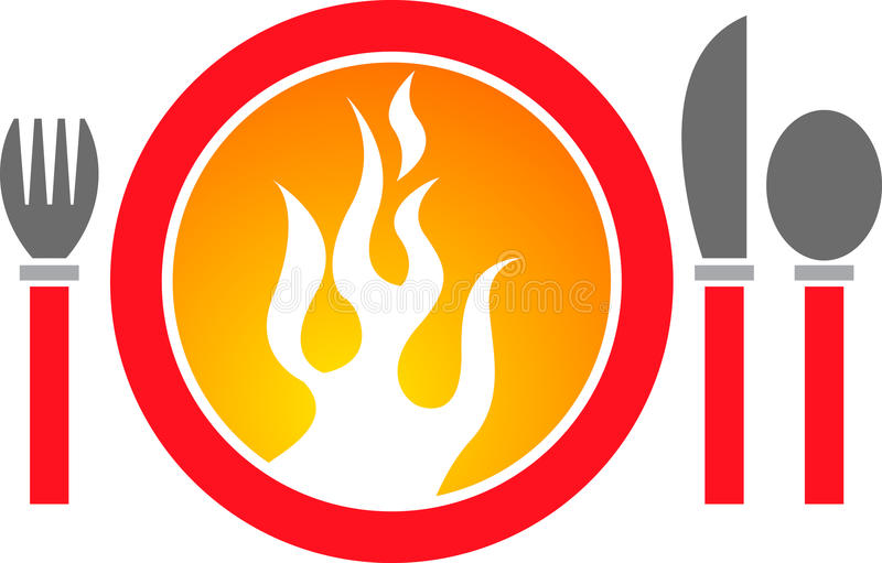 Download Hot dinner logo stock vector. Image of flame, appetite - 20014197