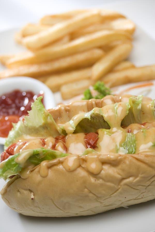 Hot-dog photographie stock libre de droits