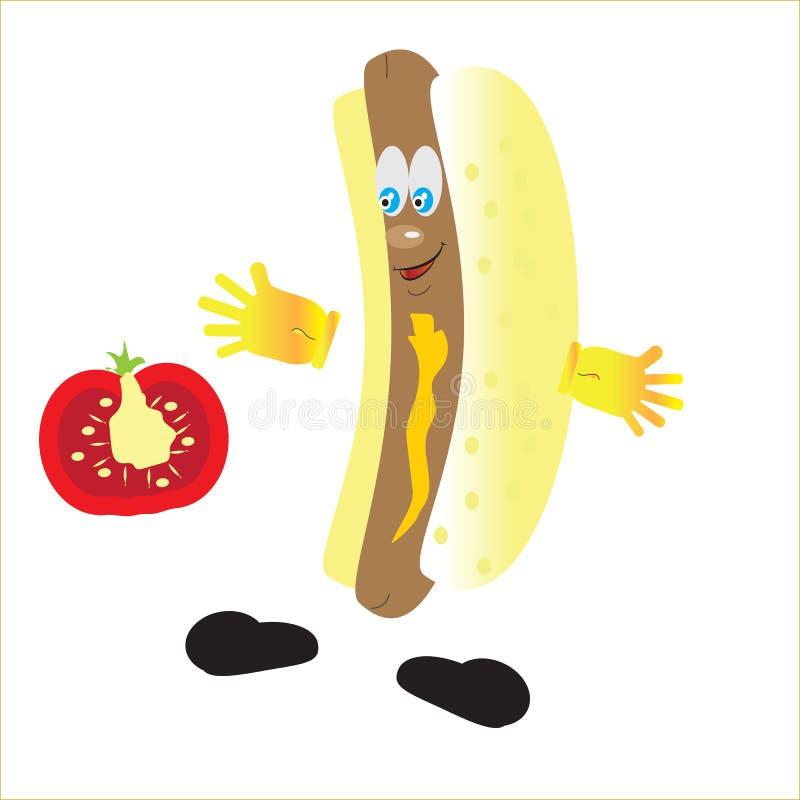Hot dog immagine stock