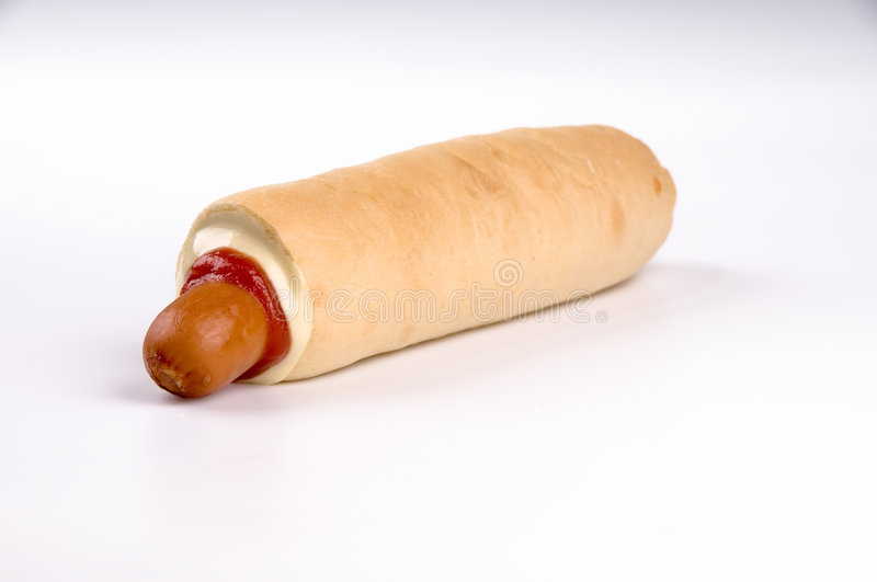 Download HOT-DOG stock image. Image of fried, snack, grilled, mustard - 8193833