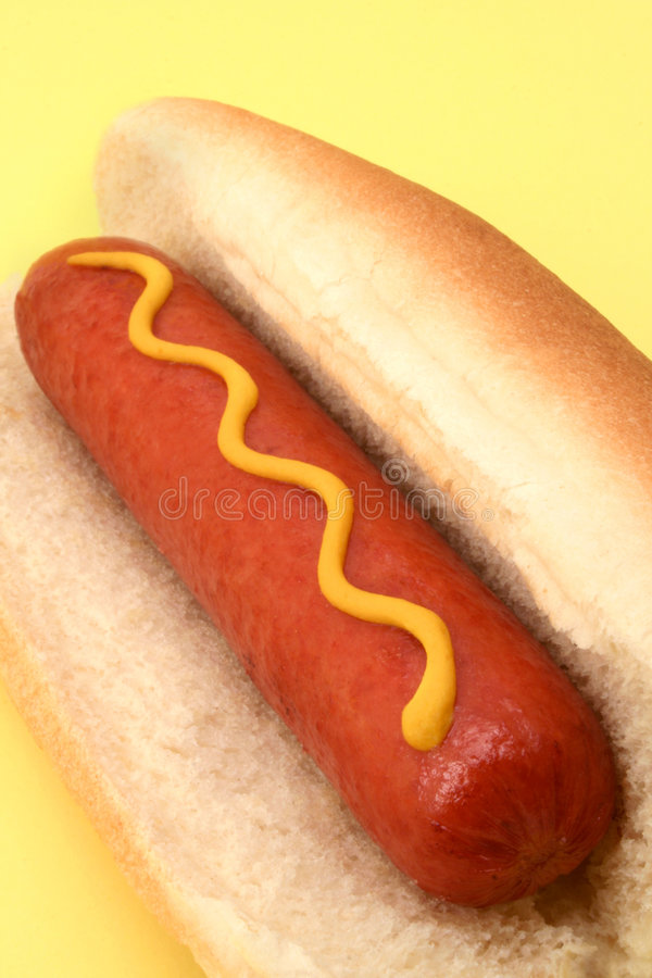 Download Hot Dog closeup stock image. Image of menu, calorie, delicious - 4873517