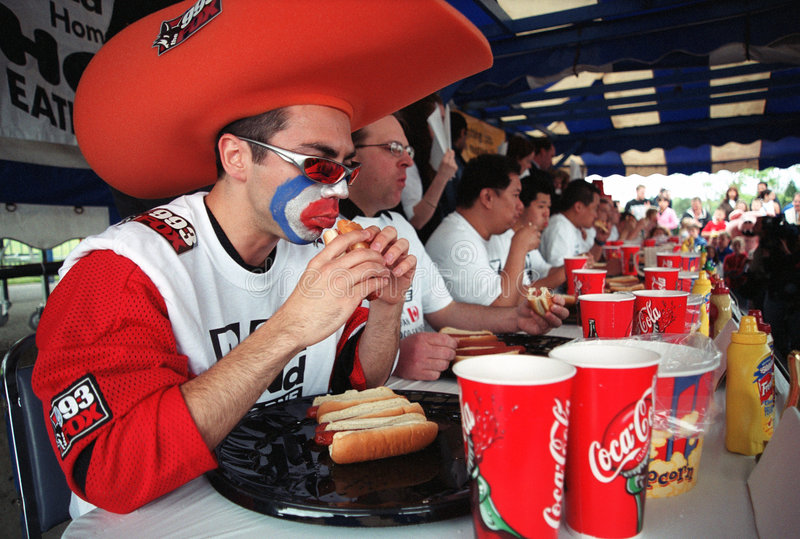 Download Hot Dog Eating Championship Editorial Image - Image: 4586540