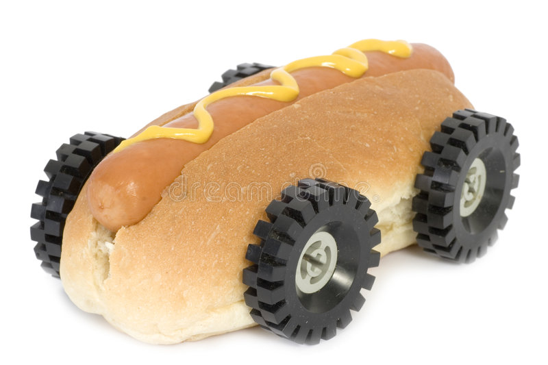 Download Hot Dog - Fast Food stock photo. Image of dine, eating - 1611696