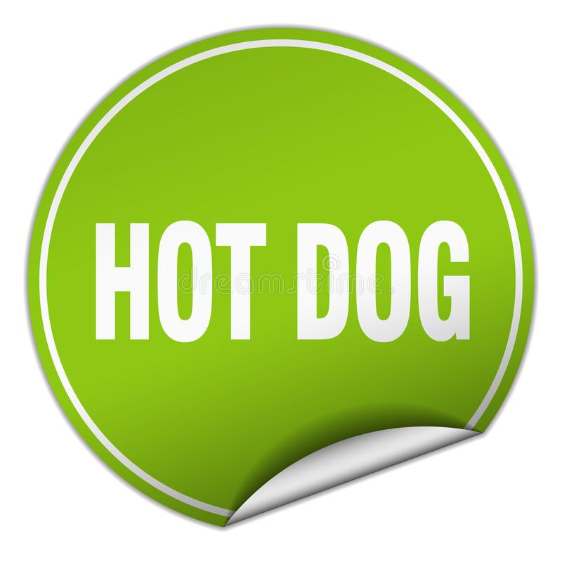 Hot Dog majcher ilustracji