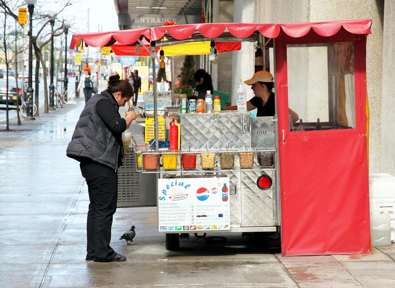 Download Hot Dog Stand editorial photography. Image of polish - 19626632