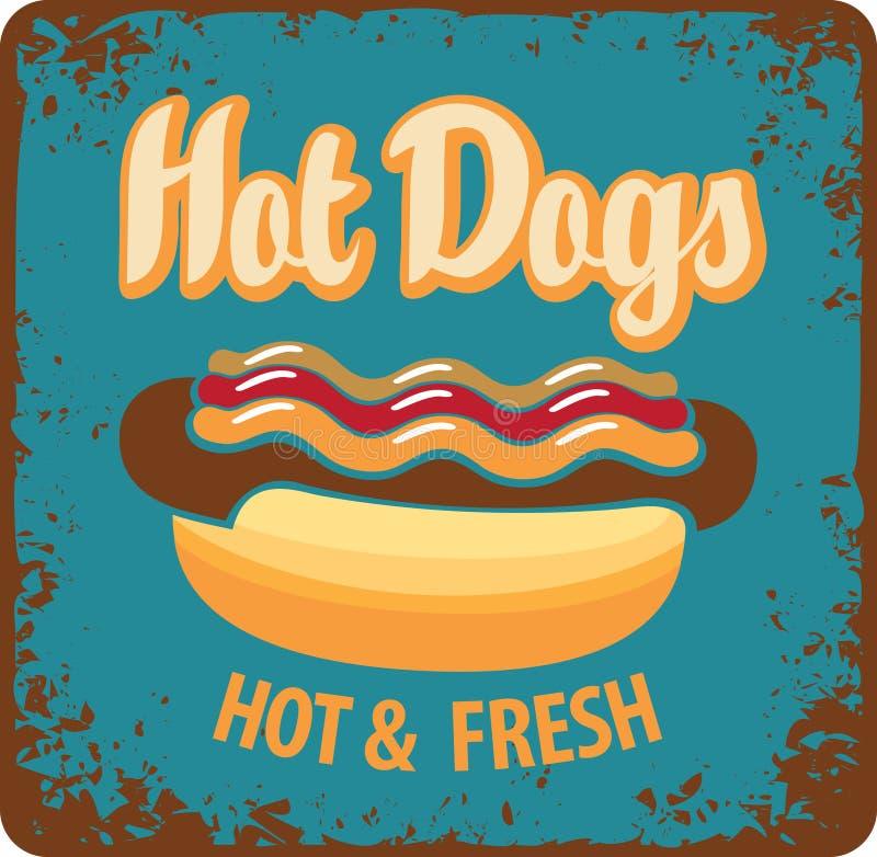 Hot dog vector illustration