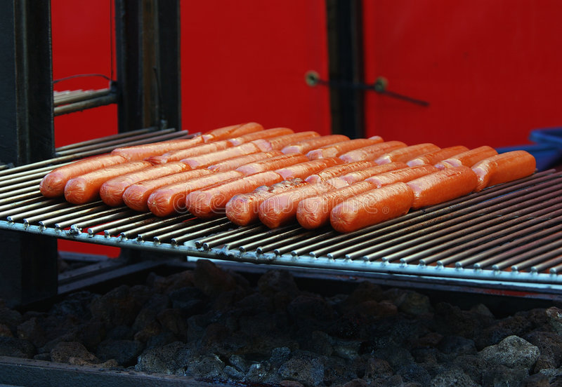 Download Hot dogs stock image. Image of cook, outdoor, food, brat - 173983