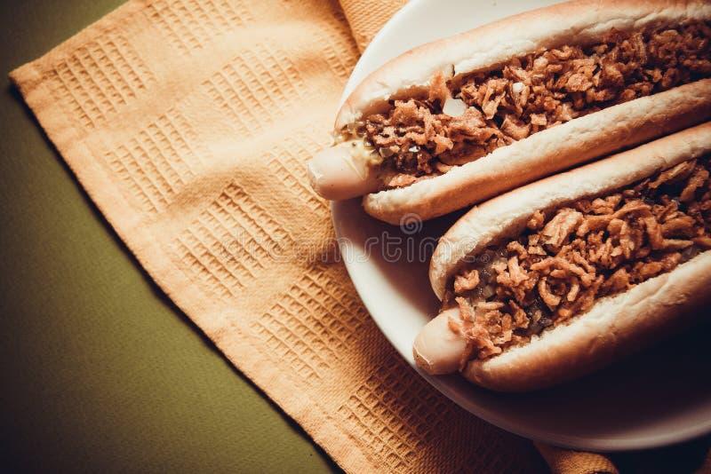 Hot dogs américains photo libre de droits