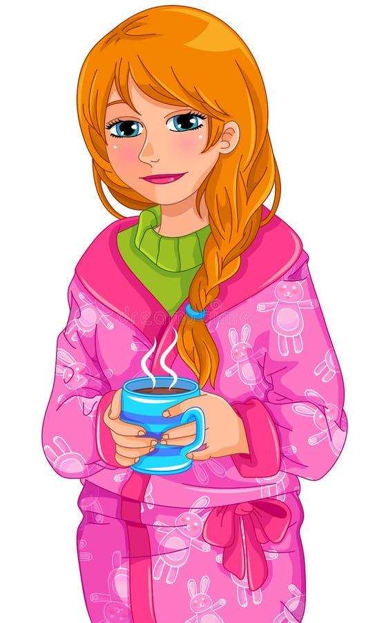 Download Hot drink stock vector. Image of beverage, home, night - 26687712