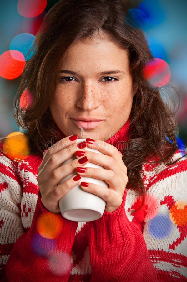 Download Hot Drink stock image. Image of christmas, drink, sensuality - 27918917