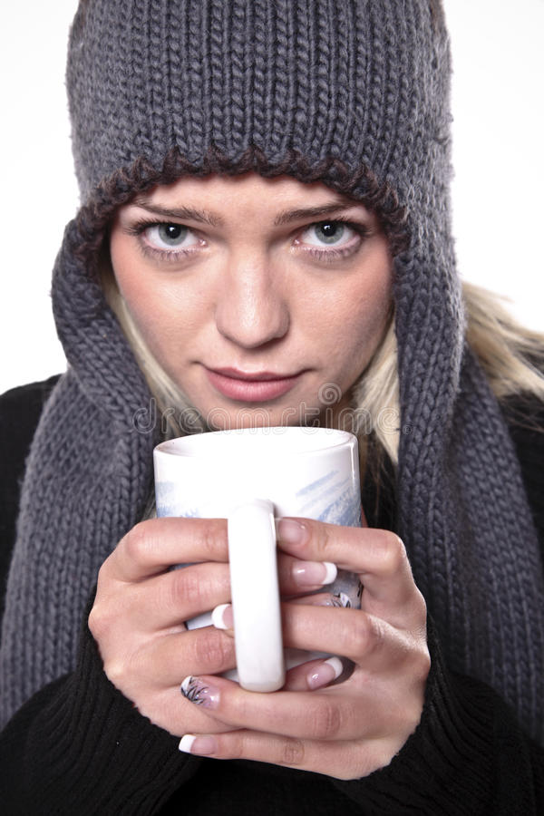 Hot Drink For Winter Cold Stock Images