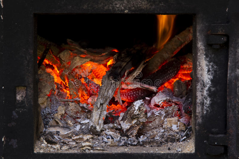 Download Hot ember stock image. Image of nature, nobody, inflammable - 25929897