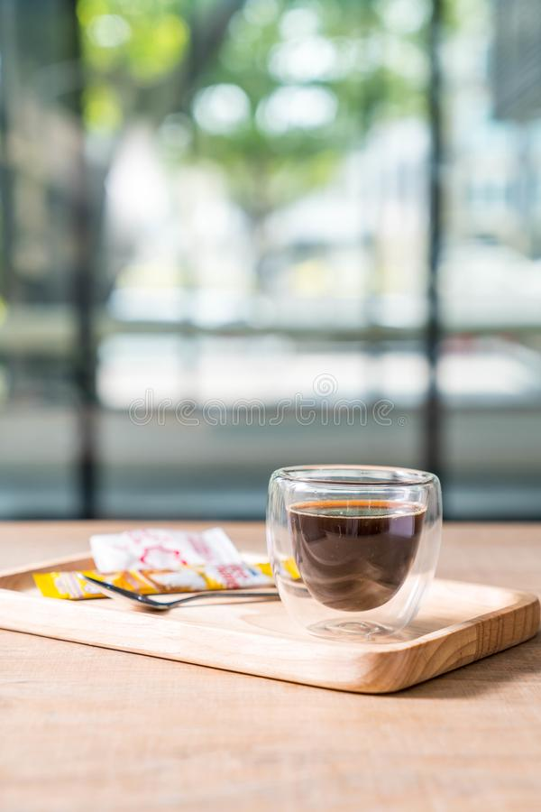 hot expresso coffee stock photography