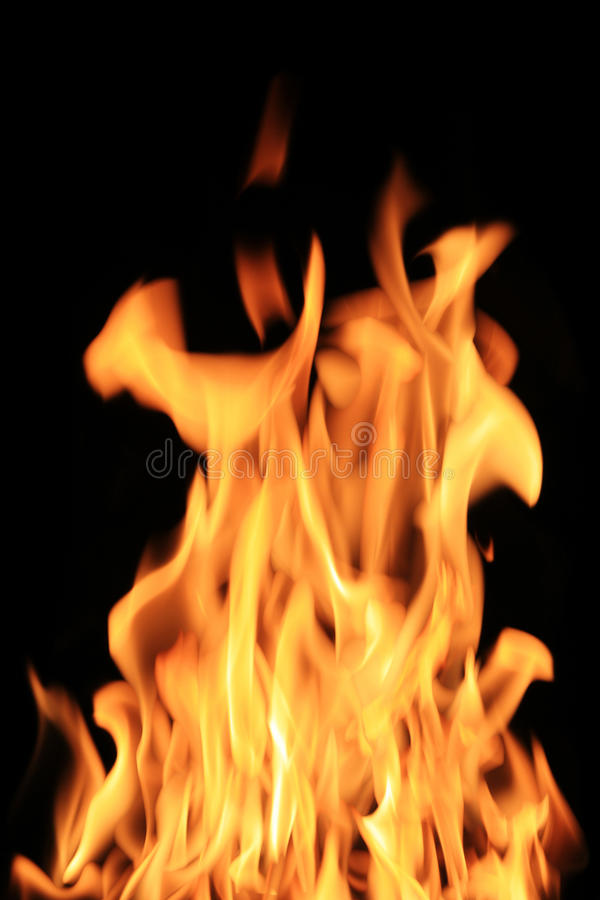 Download Hot flame stock image. Image of perfect, burn, night - 10901959