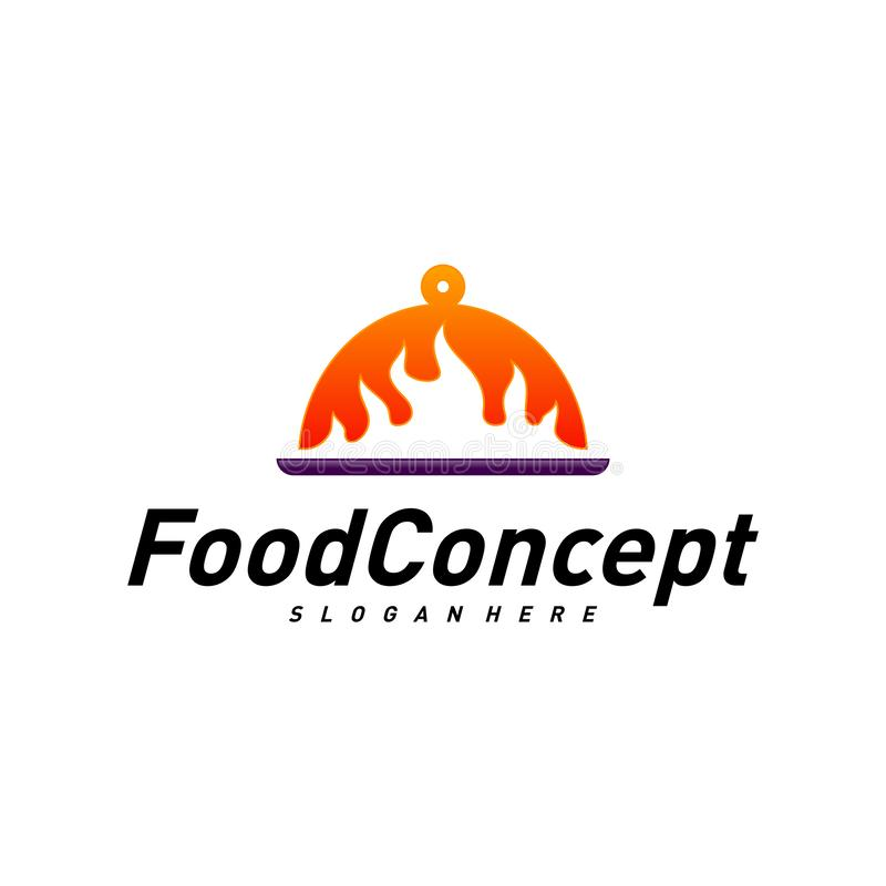 Fast Food Logo Concept Vector Cooking Logo Design Template