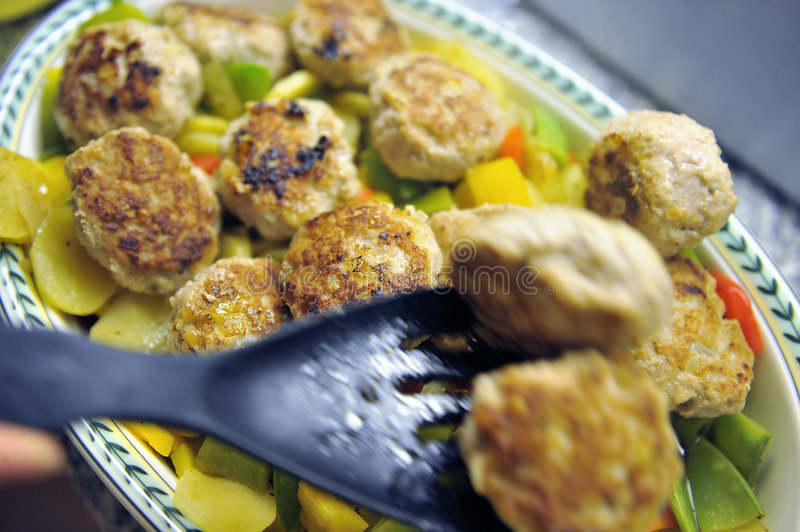 Download Hot, Fresh, Vegetarian Rissole Royalty Free Stock Photography - Image: 6723417
