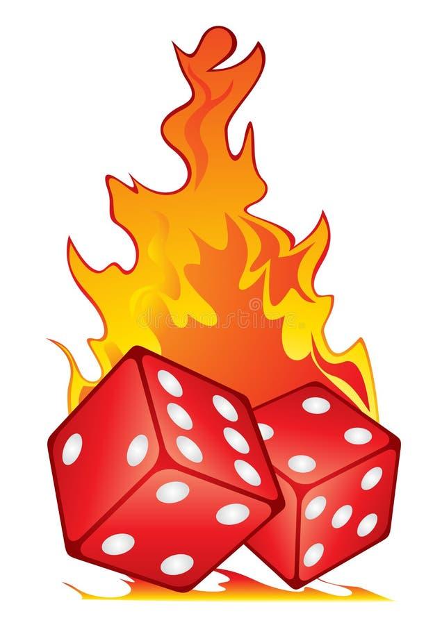 Download Hot game stock vector. Image of illustration, burn, luck - 36359566