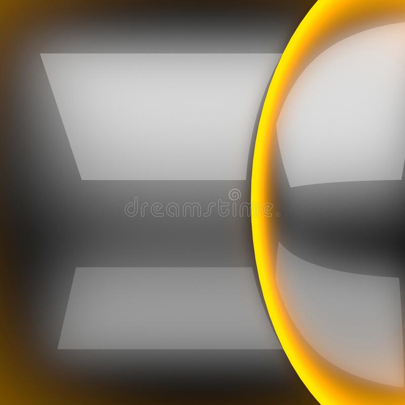 Hot gray metal background stock image