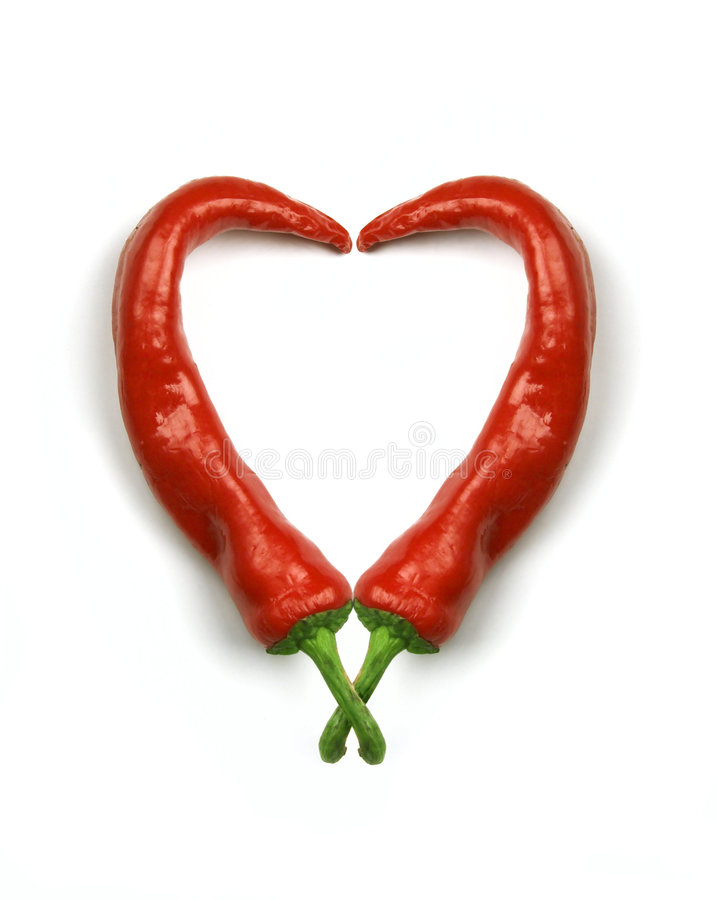 Download Hot heart stock image. Image of paprika, colors, kitchen - 1378807