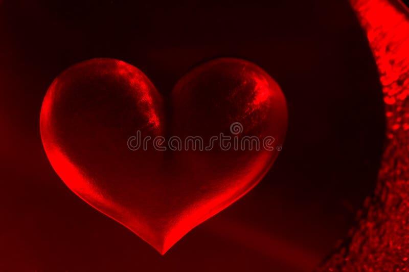 Hot Heart Background. Romantic Hot Heart Background. Symbol of Love stock illustration