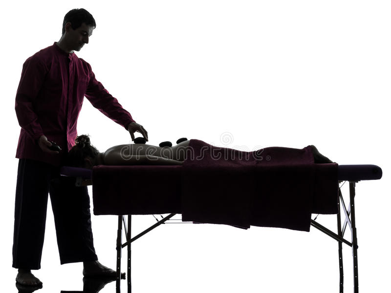 Download Hot Lastones Massage Therapy Stock Photo - Image: 28755208