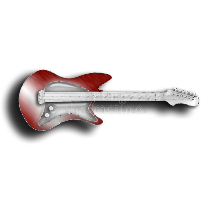 Hot Licks in Red stock photo