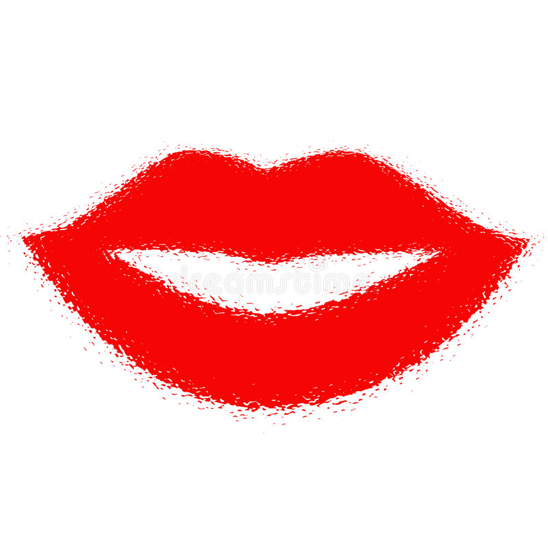 Free Hot Lips Print Stock Images - 2837654