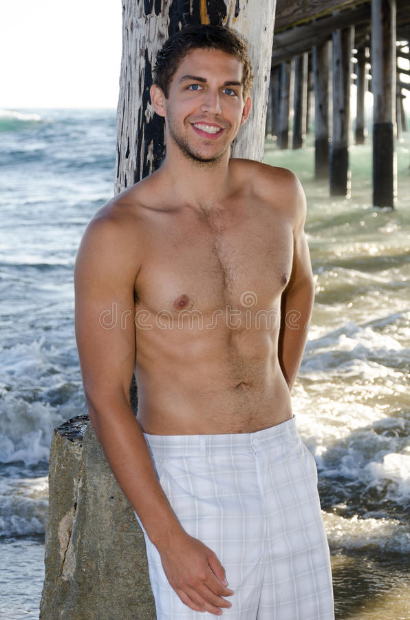 Download Hot male model stock photo. Image of bicep, california - 34819140