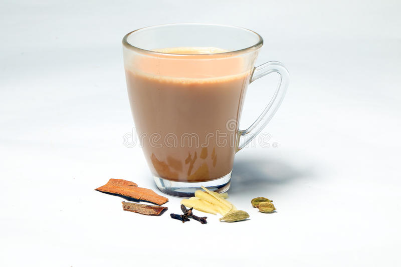 Hot Masala Tea royalty free stock photo