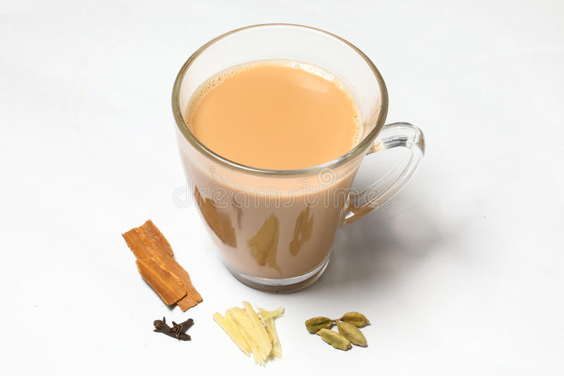 Hot Masala Tea stock photos