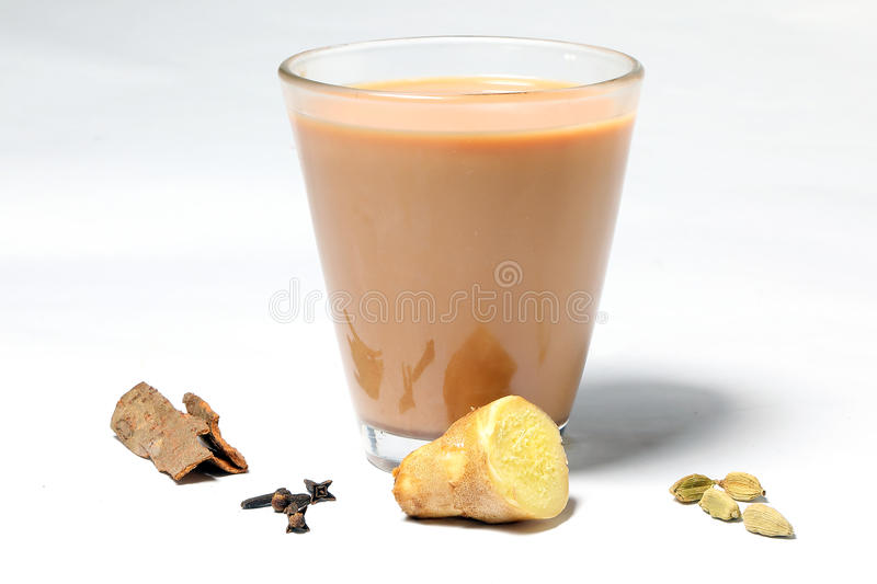 Hot Masala Tea royalty free stock images