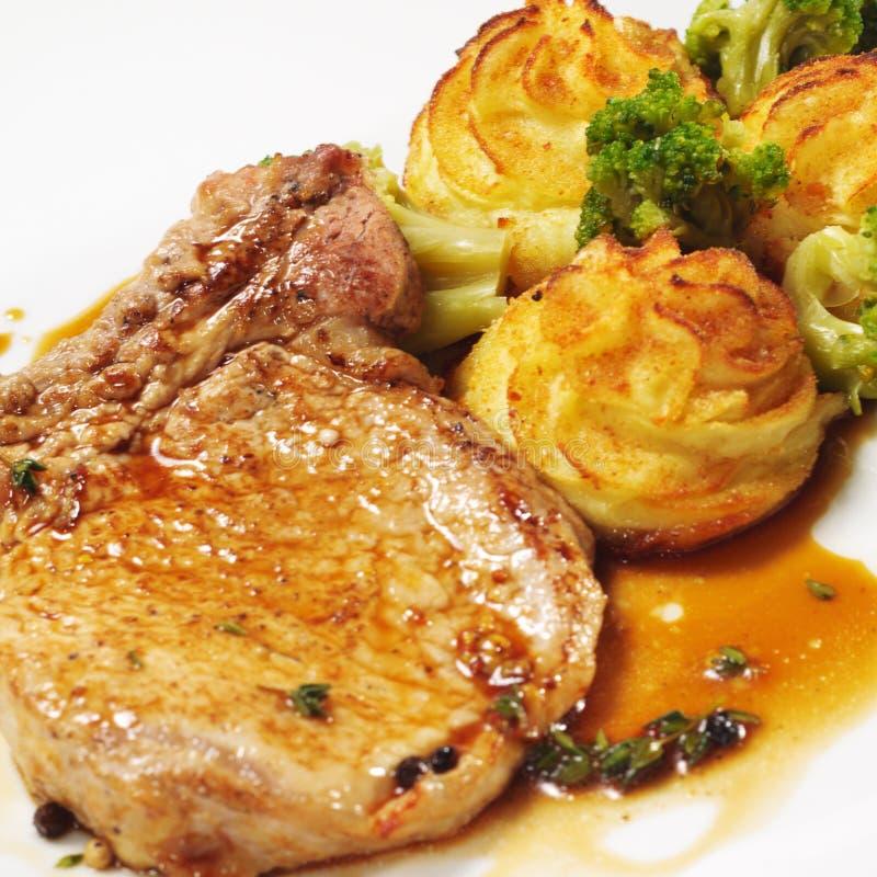 Download Hot Meat Dishes - Bone-in Pork Brisket Stock Image - Image: 10919065