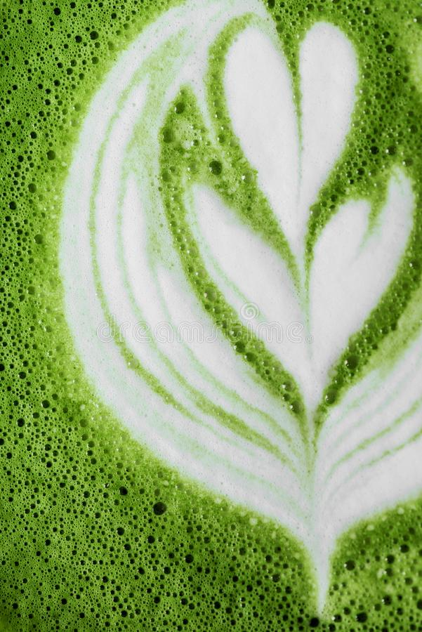 Free Hot Mocha Green Tea Latte Stock Photos - 150256833