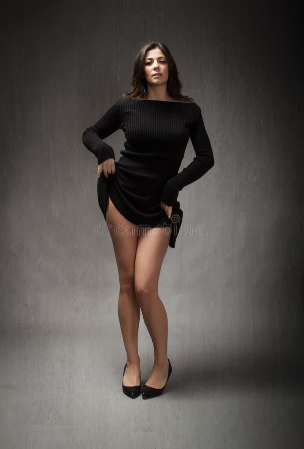Hot model royalty free stock photo