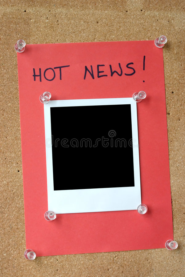 Download Hot news stock photo. Image of instant, insulate, camera - 262066