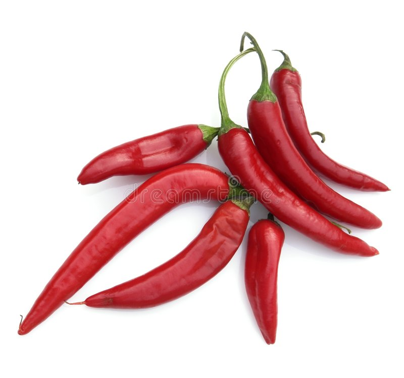 Hot pepper stock photo